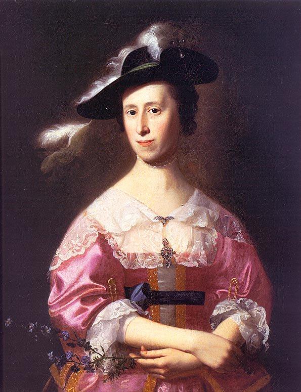 Mrs Samuel Quincy (Hannah Hill) 1761 | John Singleton Copley | Oil Painting