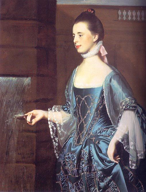 Mrs Daniel Sargent (Mary Turner)  1763 | John Singleton Copley | Oil Painting