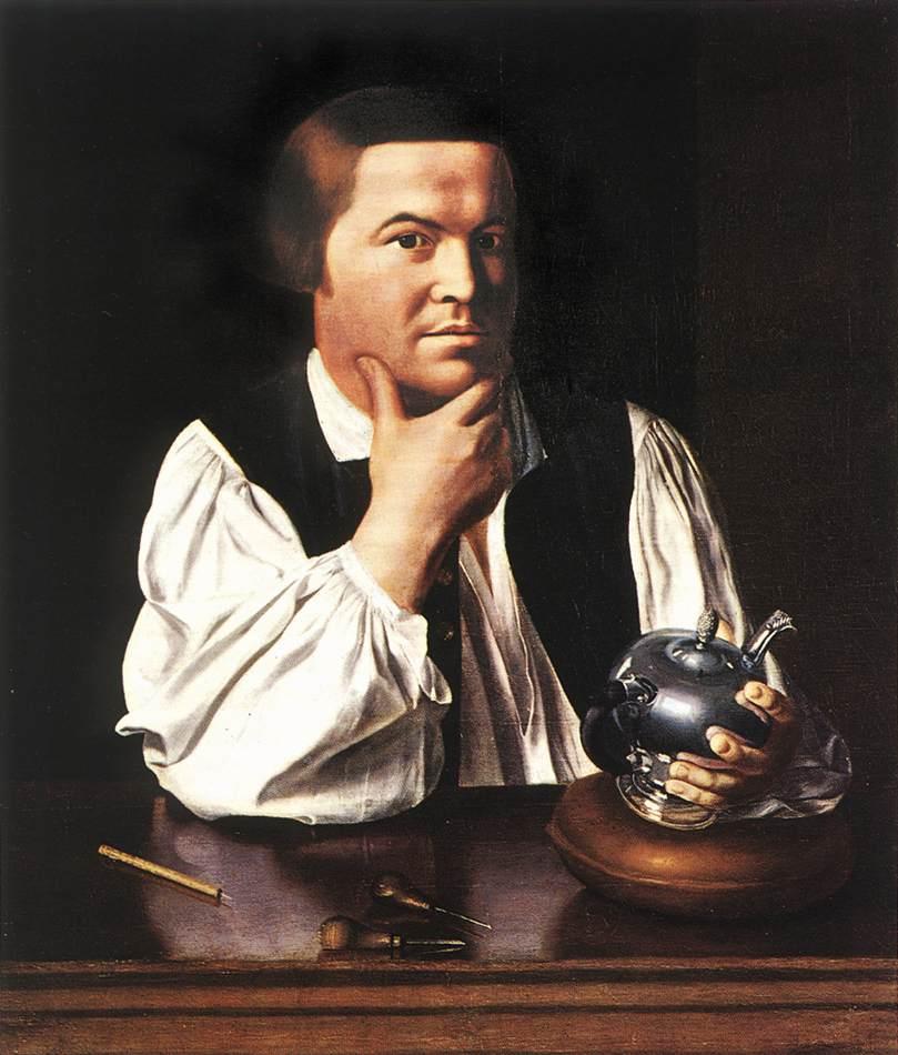 Paul Revere 1768-70 | John Singleton Copley | Oil Painting