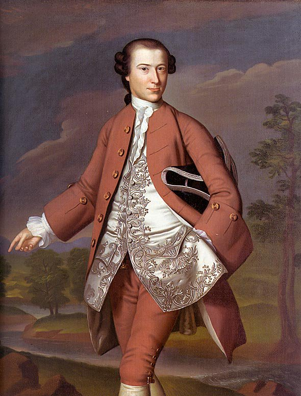 Theodore Atkinson 1757-58 | John Singleton Copley | Oil Painting