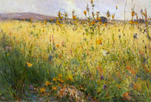 Field of Oats Lyron 1887 | Karl Nordstrom | Oil Painting