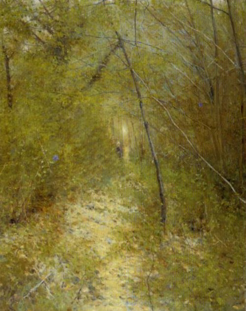 Forest Glade Grez | Karl Nordstrom | Oil Painting