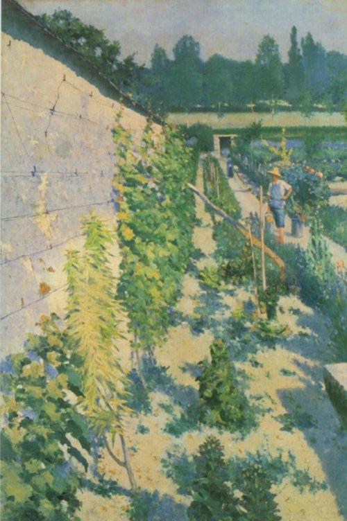 Garden in Grez sru Loing 1884 | Karl Nordstrom | Oil Painting