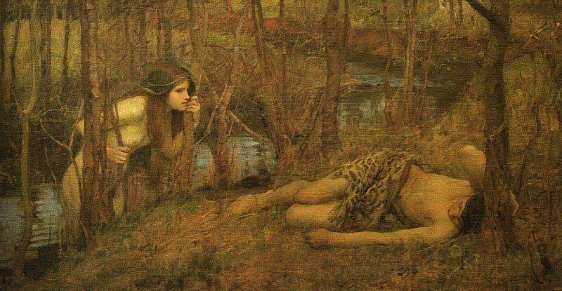 A Naiad | John William Waterhouse | Oil Painting