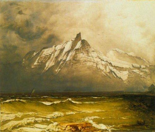 From Nordland 1850 | Peder Balke | Oil Painting