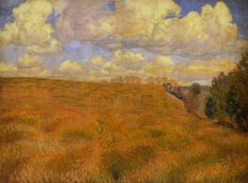Billowing Rye 1894 | Peter Hanen | Oil Painting