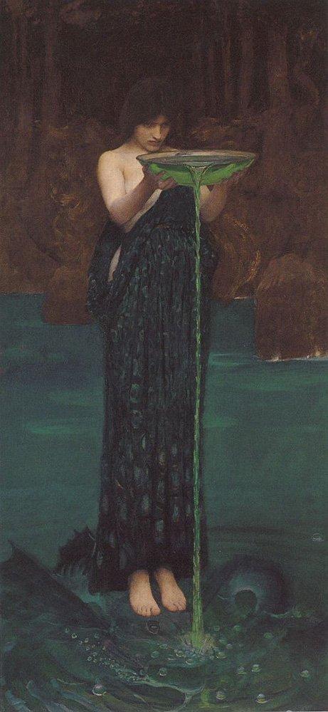 Circe Invidiosa | John William Waterhouse | Oil Painting