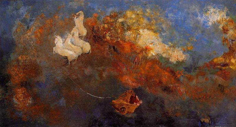Apollo Chariot 1908 | Odilon Redon | Oil Painting