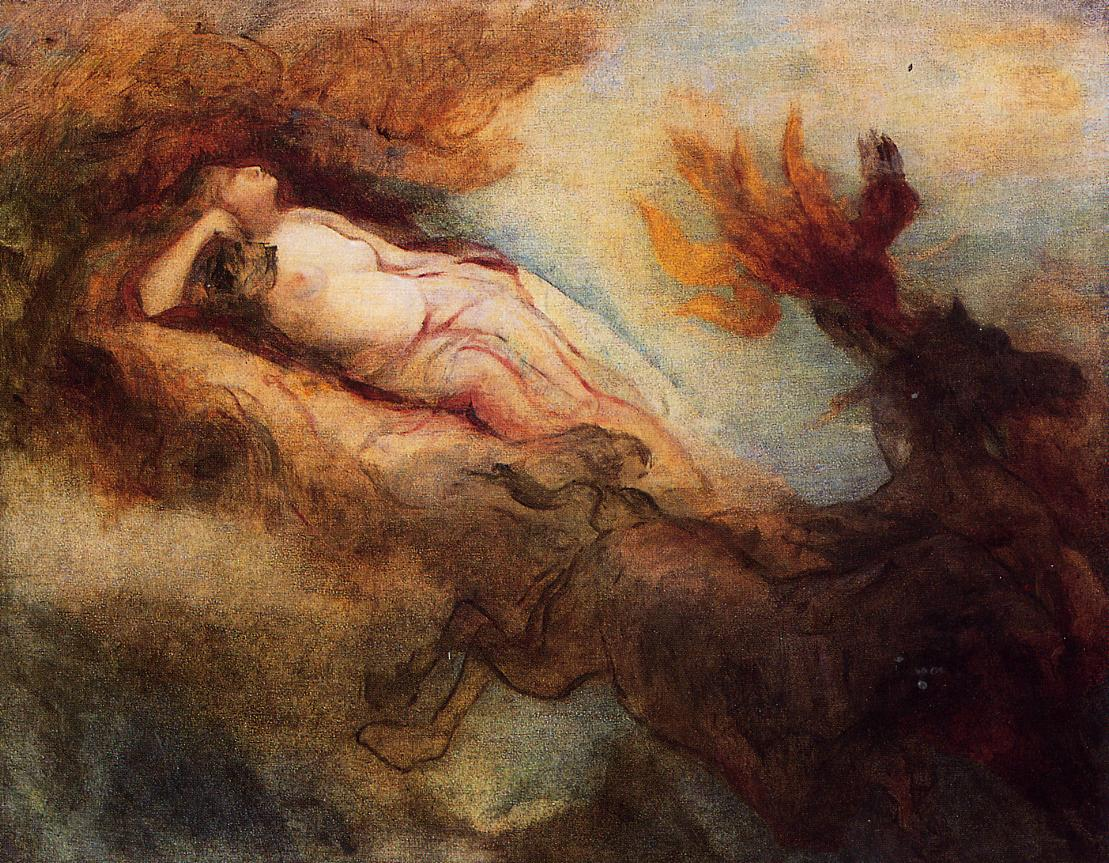 Aurora 1910   Odilon Redon   Oil Painting