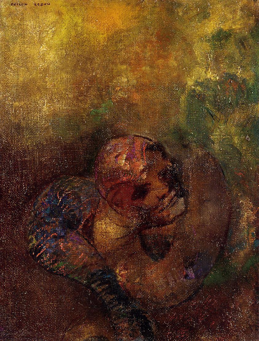 Chrysalis   Odilon Redon   Oil Painting