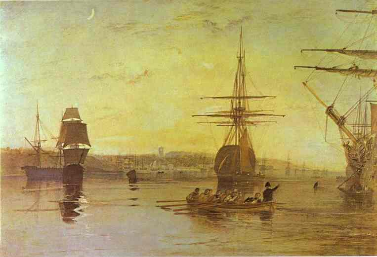 Cowes Isle Of Wight 1827 | Joseph Mallord William Turner | Oil Painting