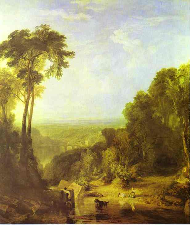 Crossing The Brook 1815 | Joseph Mallord William Turner | Oil Painting