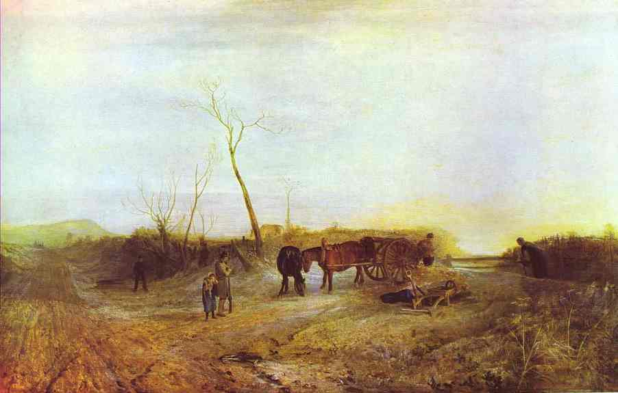 Frosty Morning 1813 | Joseph Mallord William Turner | Oil Painting