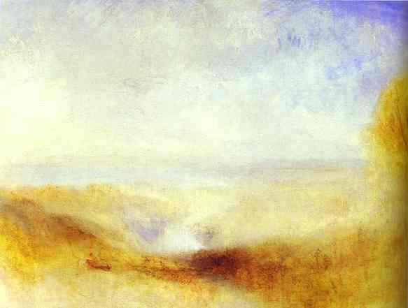 Landscape With A River And A Bay In The Background 1845 | Joseph Mallord William Turner | Oil Painting