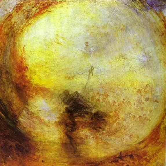 Light And The Morning After The Deluge Moses Writing The Book Of Genesis 1843 | Joseph Mallord William Turner | Oil Painting
