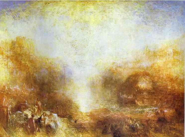 Mercury Sent To Admonish Aeneas 1850 | Joseph Mallord William Turner | Oil Painting