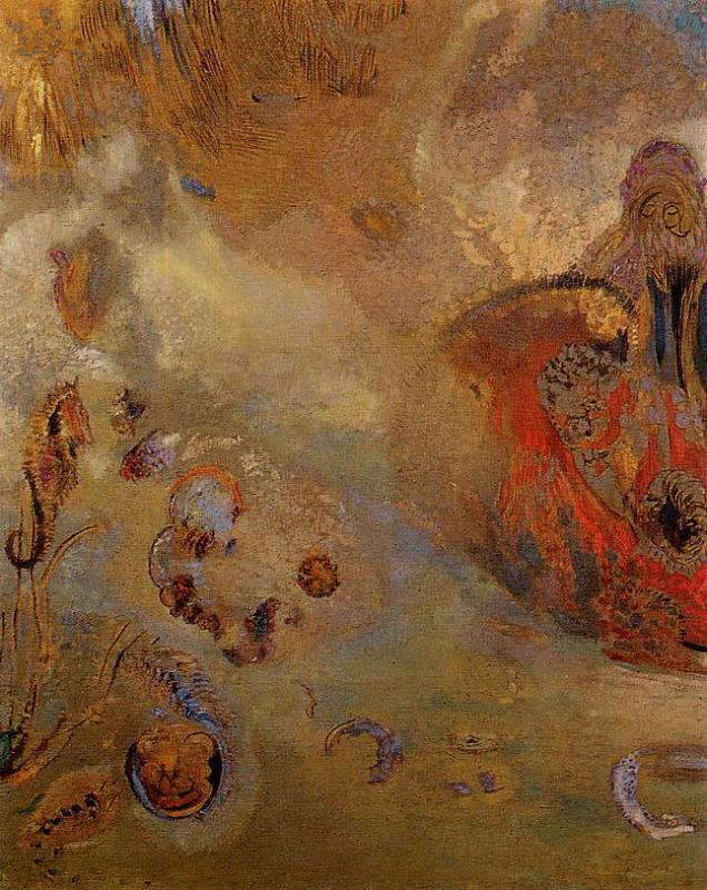 Underwater Vision 1910 | Odilon Redon | Oil Painting