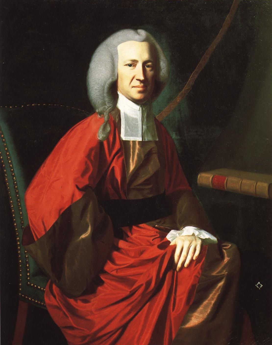 Portrait Of Judge Martin Howard | John Singleton Copley | Oil Painting