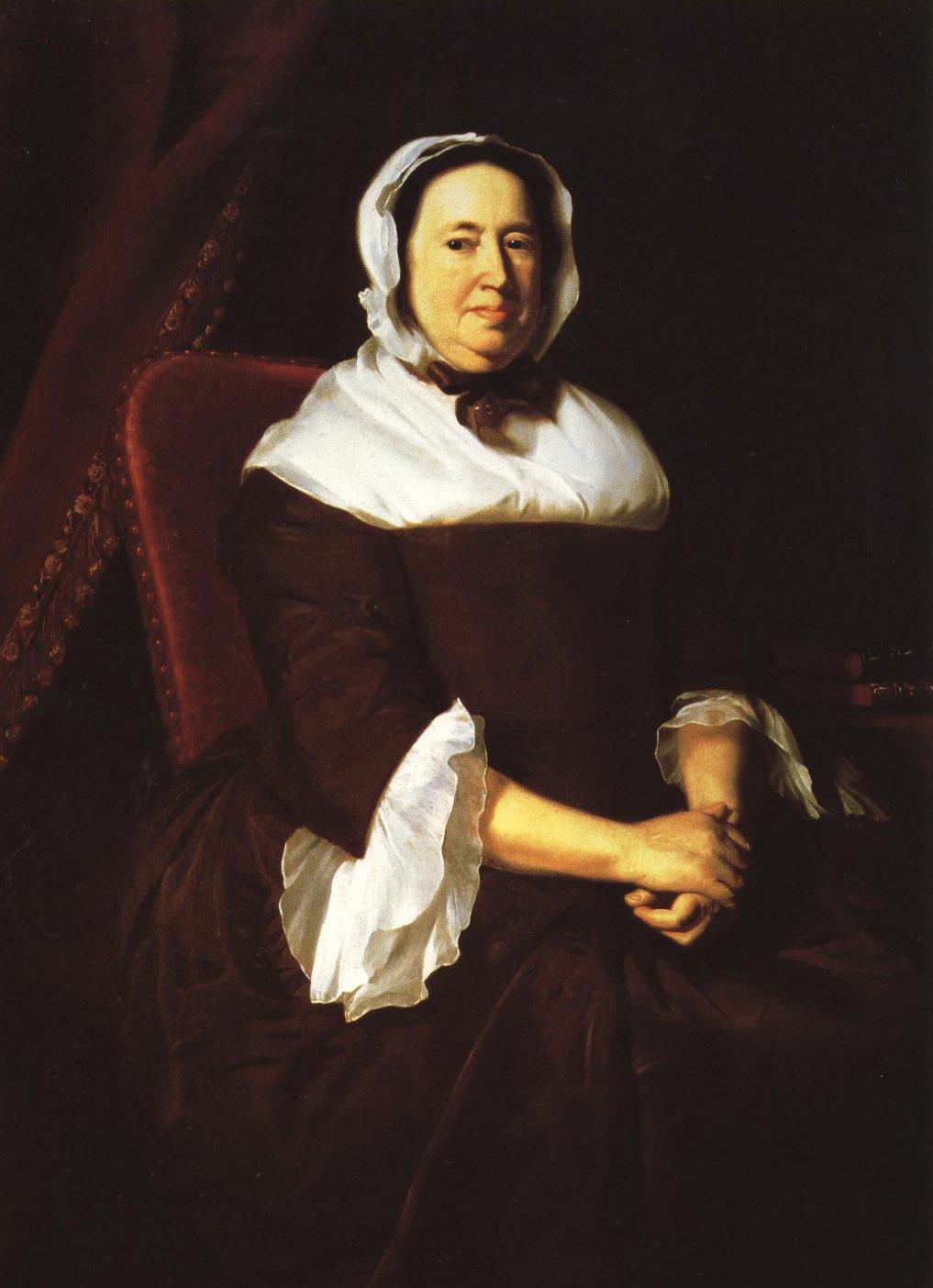 Portrait Of Mrs Samuel Hill Miriam Kilby | John Singleton Copley | Oil Painting