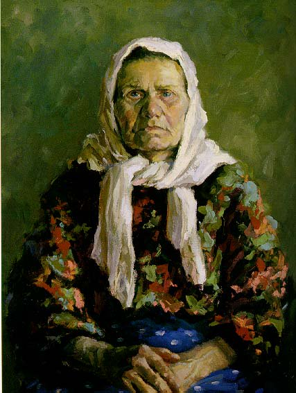 A Native of Yekaterinburgb 1957 | Evgeni N. Mosin 1923-1992 | Oil Painting