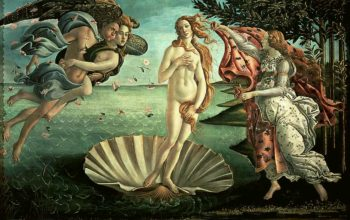 The Birth Of Venus C1485   Sandro Botticelli   Oil Painting