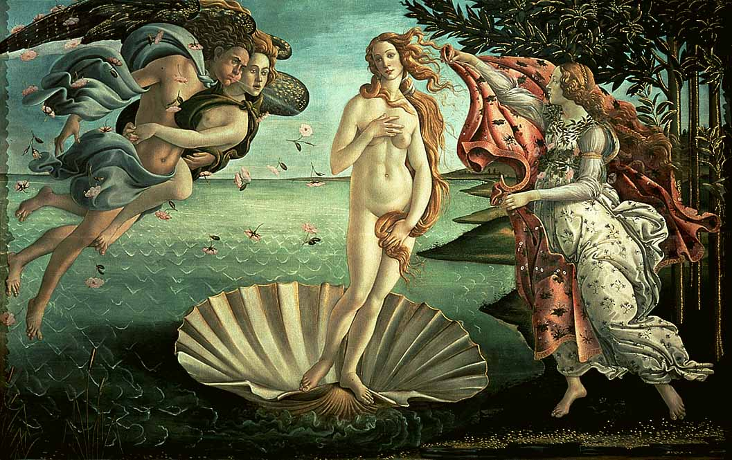 The Birth Of Venus C1485 | Sandro Botticelli | Oil Painting