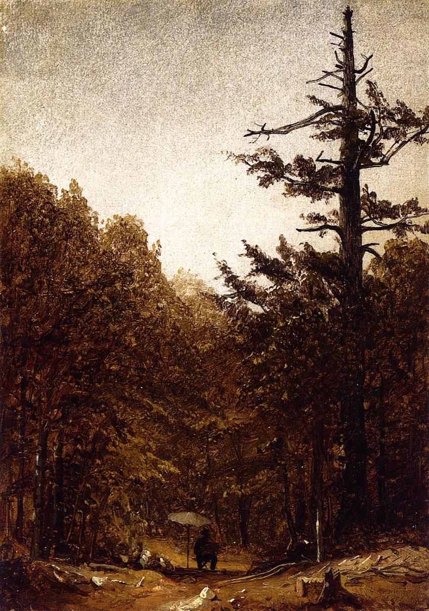 A Forest Road 1860 | Sanford Robinson Gifford | Oil Painting