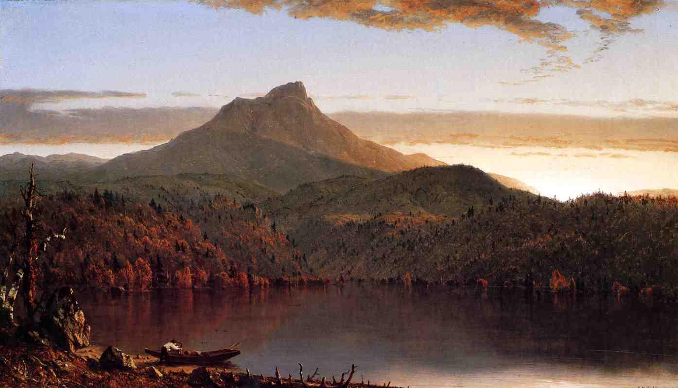 A Lake Twilight 1861 | Sanford Robinson Gifford | Oil Painting