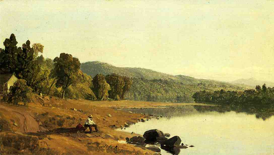 A Moment's Rest | Sanford Robinson Gifford | Oil Painting