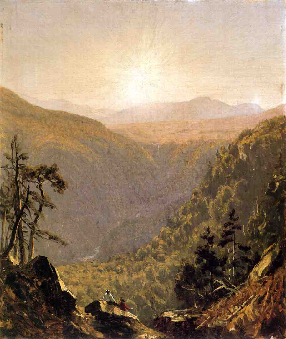 A Sketch in Kauterskill Clove 1861 | Sanford Robinson Gifford | Oil Painting