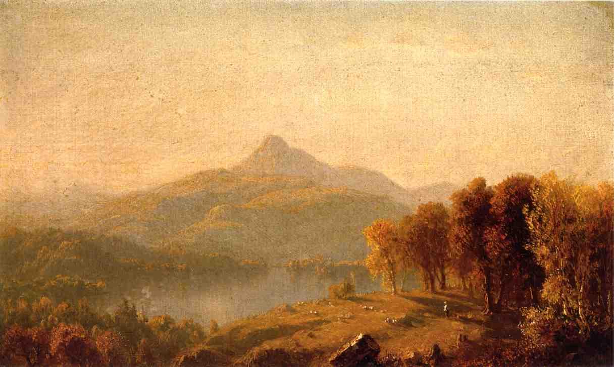 A Sketch of Mount Chocorua 1854 1863 | Sanford Robinson Gifford | Oil Painting