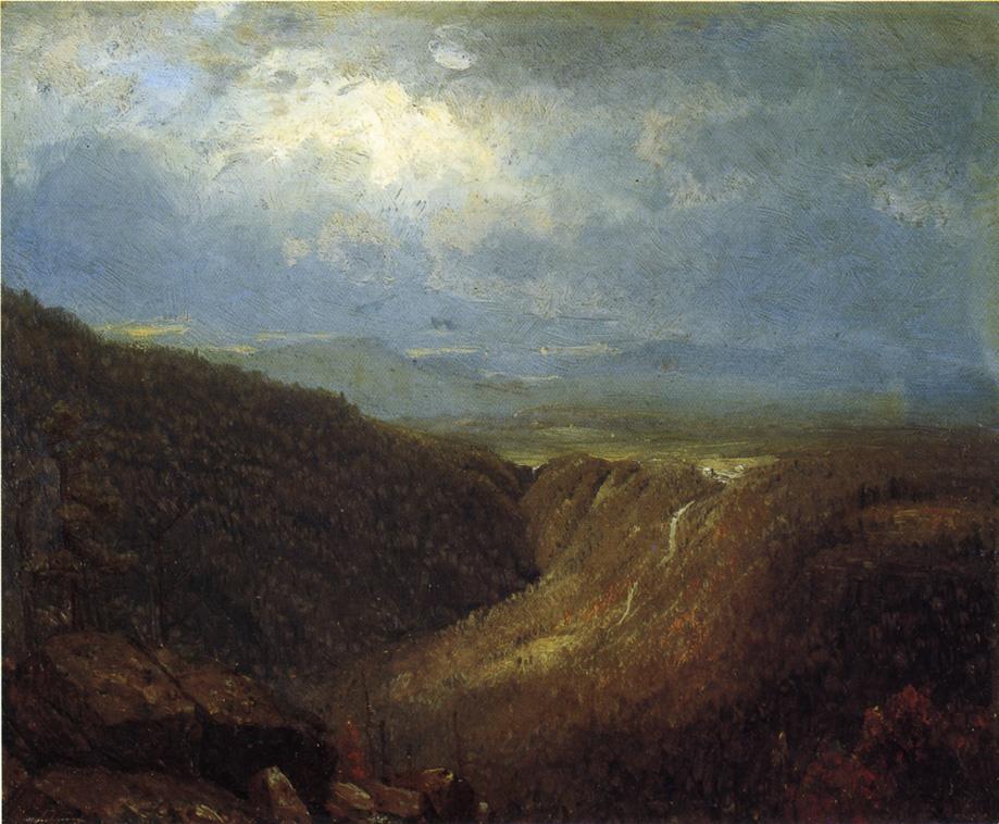 A Souvenir of the Catskills 1867 | Sanford Robinson Gifford | Oil Painting