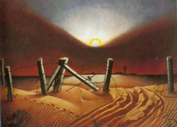 Dust Bowl 1933 | Alexandre Hogue | Oil Painting