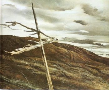 Dodges Ridge 1947 | Andrew Wyeth | Oil Painting
