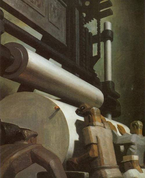 Paper Workers 1934 | Douglass Crockwell | Oil Painting