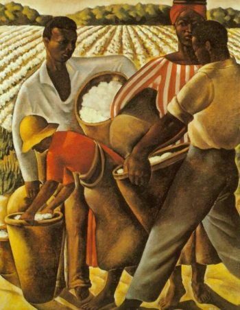 Employment Of Negroes In Agriculture 1934 | Earle Richardson | Oil Painting