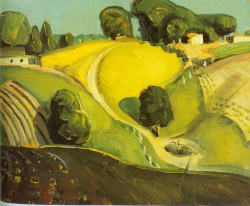 Landscape 1930 | Grant Wood | Oil Painting