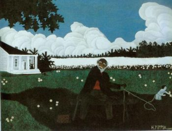 Old Black Joe 1943 | Horace Pippin | Oil Painting