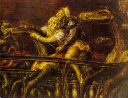 George Tilyous Steeplechase 1932 | Reginald Marsh | Oil Painting