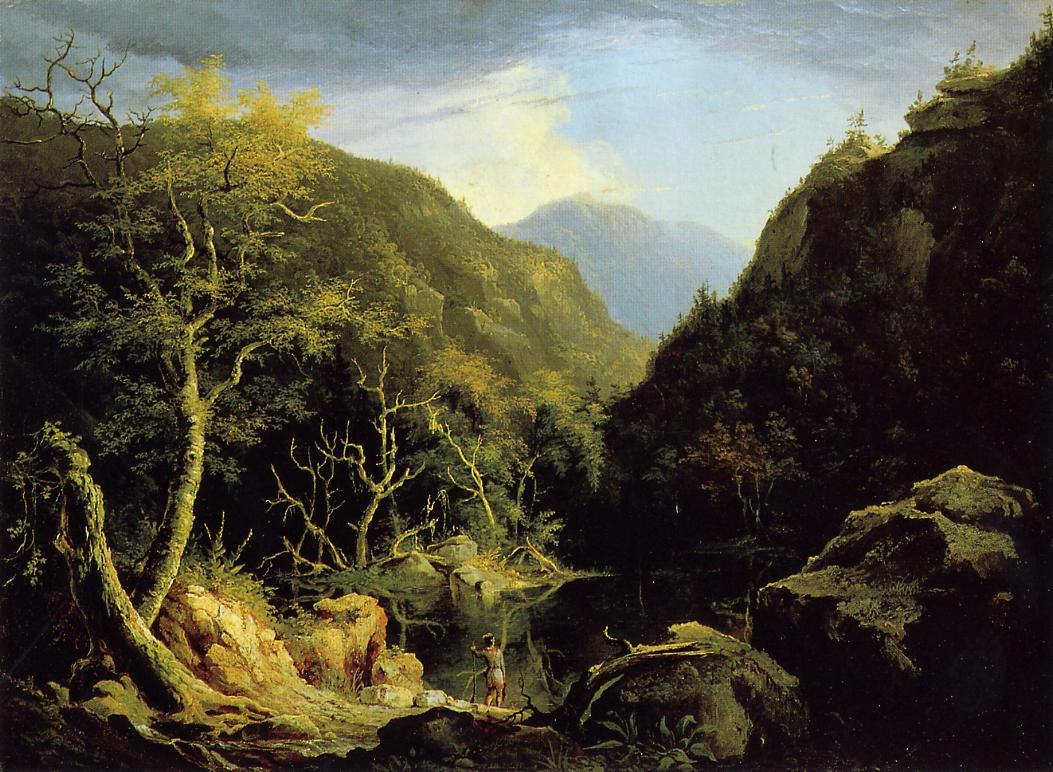 Autumn in the Catskills 1827   Thomas Cole   Oil Painting