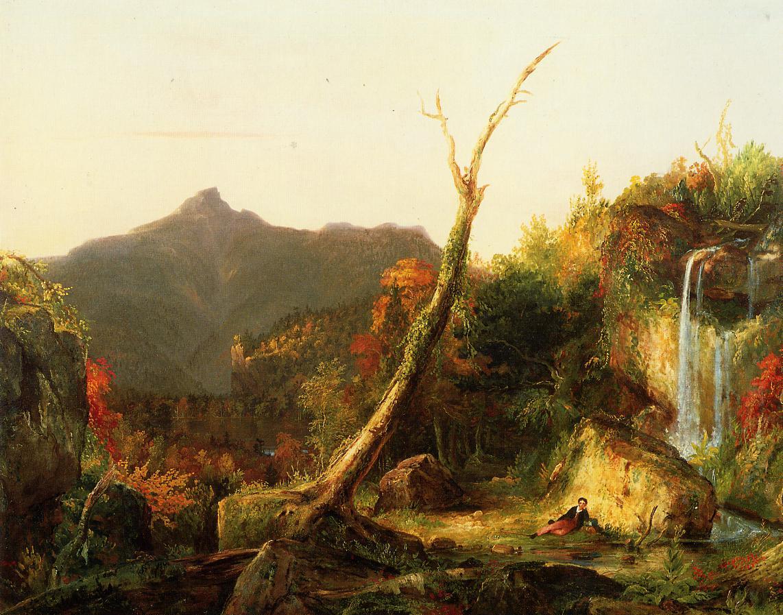 Autumn Landscape (aka Mount Chocorua) 1827-1828   Thomas Cole   Oil Painting