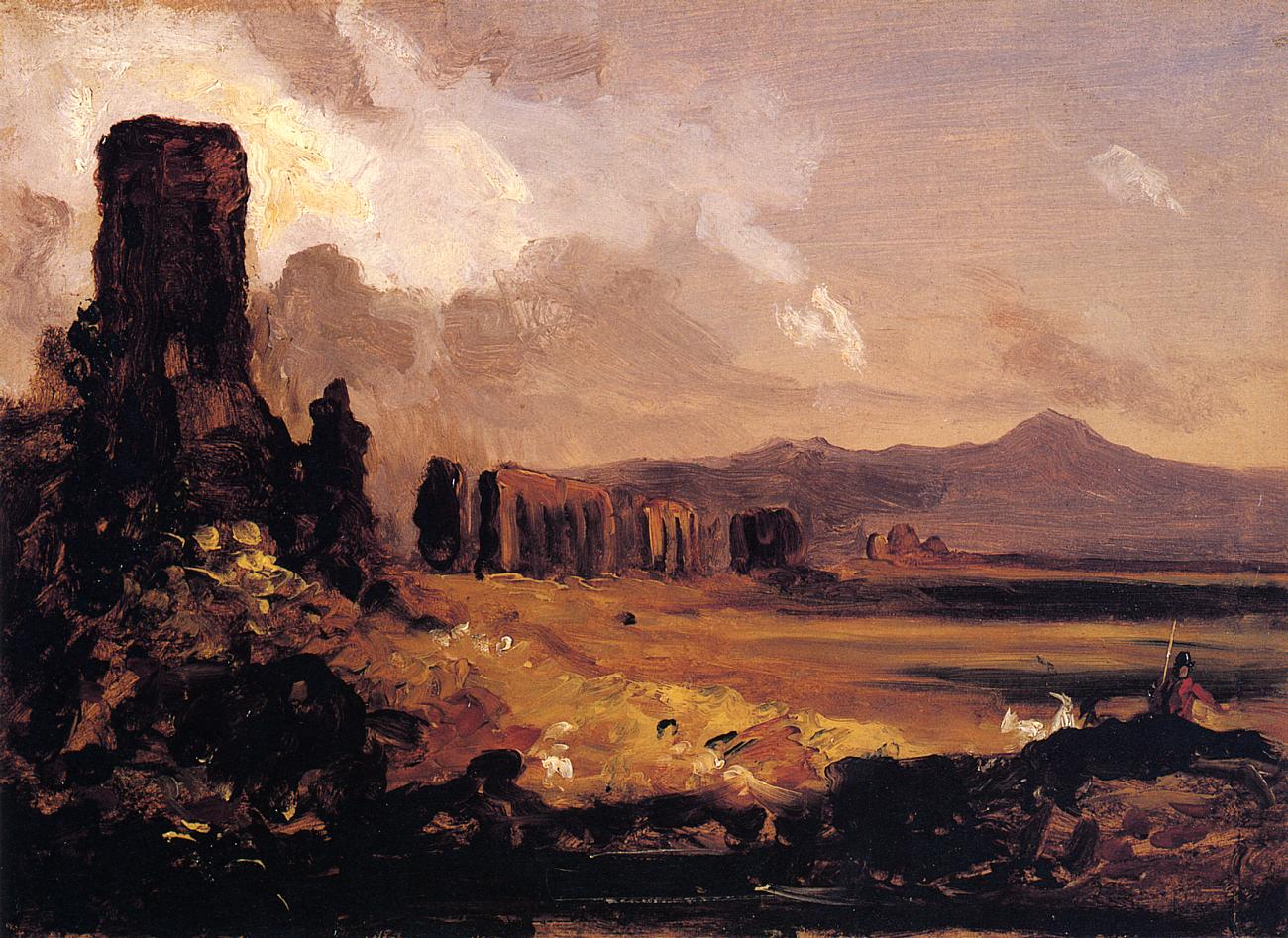 Campagna di Roma 1832   Thomas Cole   Oil Painting