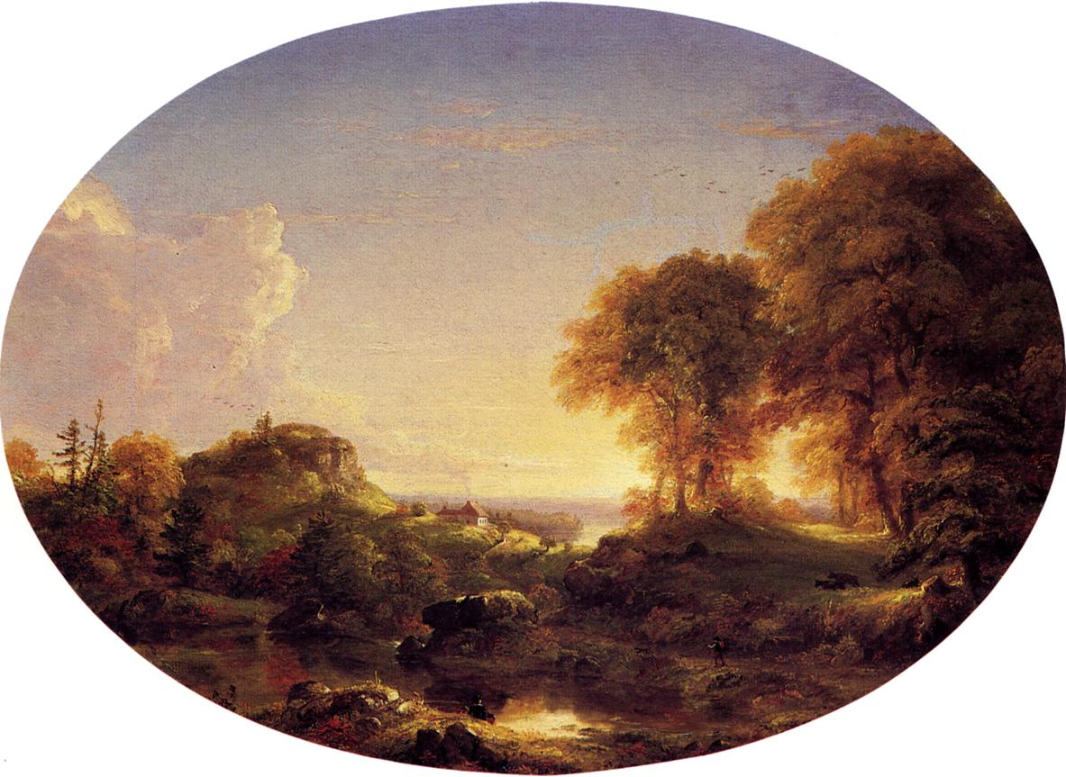 Catskill Landscape 1846   Thomas Cole   Oil Painting