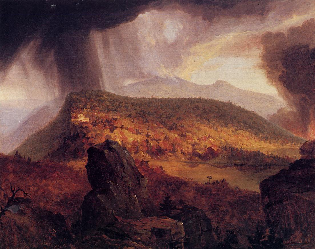 Catskill Mountain House The Four Elements 1833-1834   Thomas Cole   Oil Painting