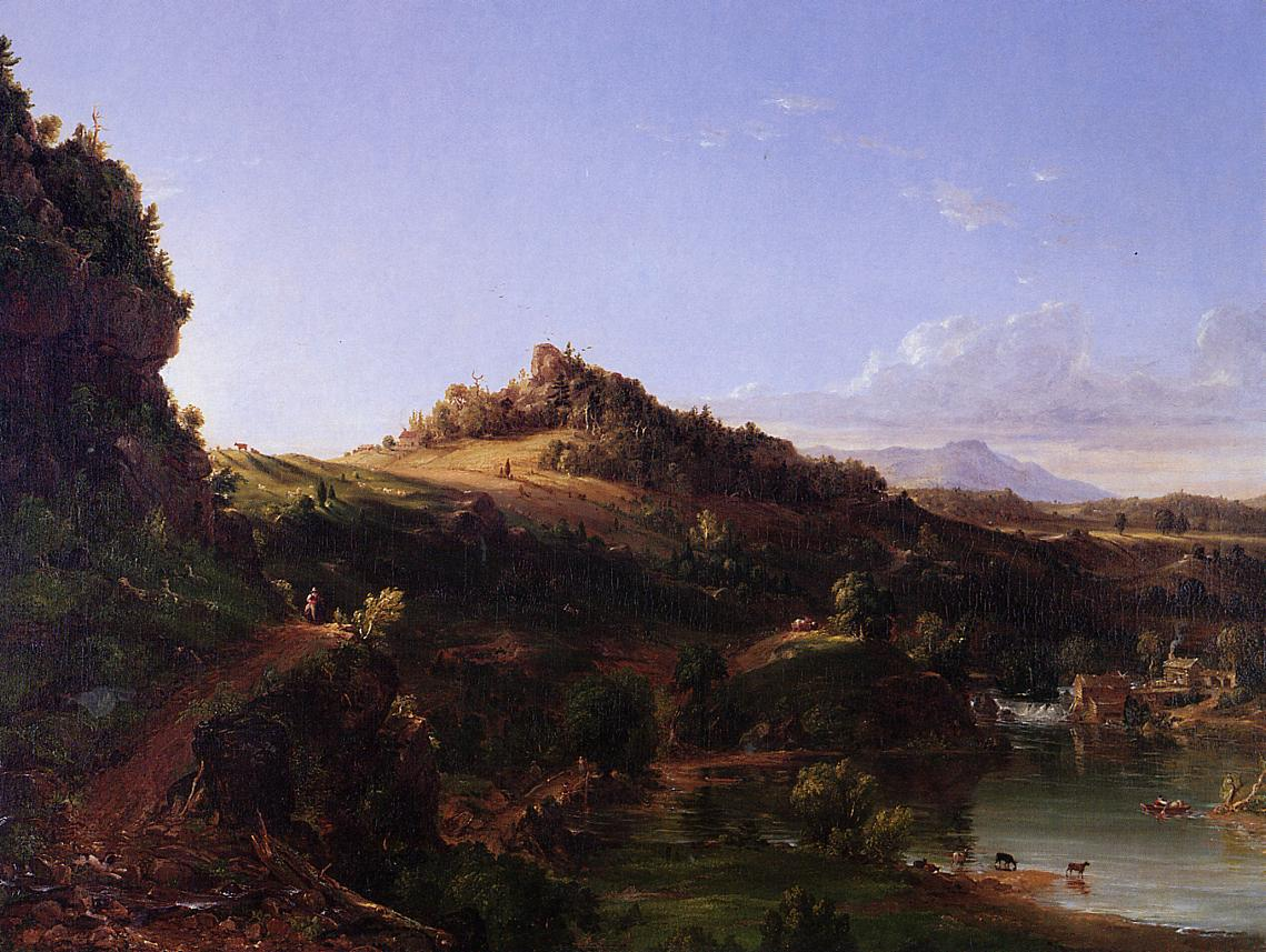 Catskill Scenery 1833   Thomas Cole   Oil Painting
