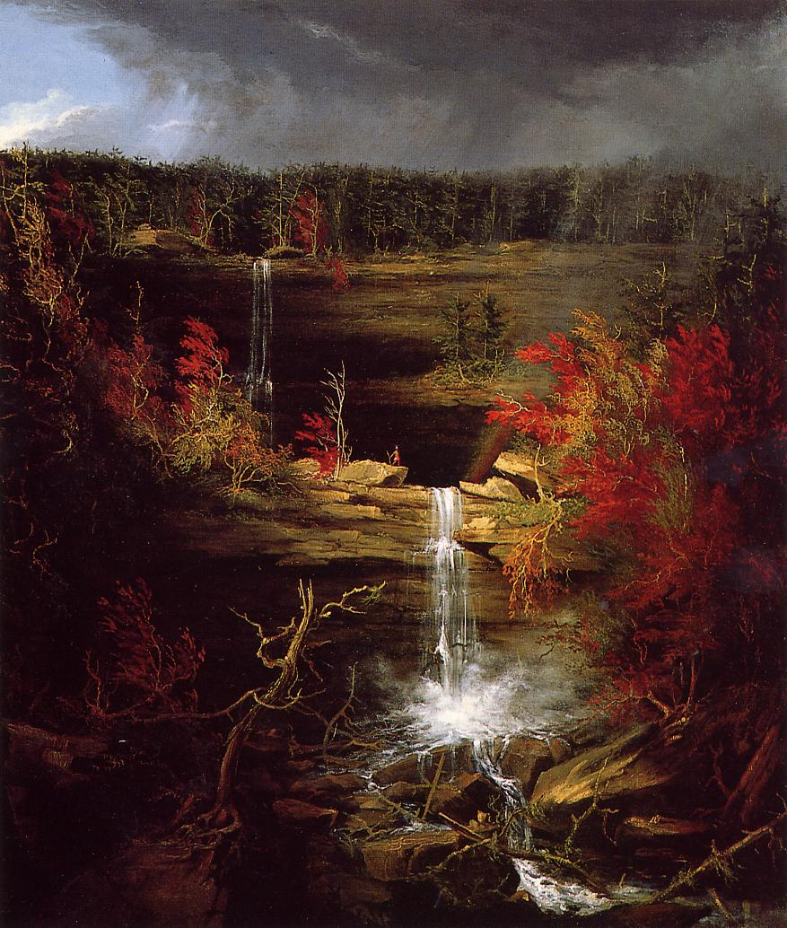 Falls of Kaaterskill 1826   Thomas Cole   Oil Painting