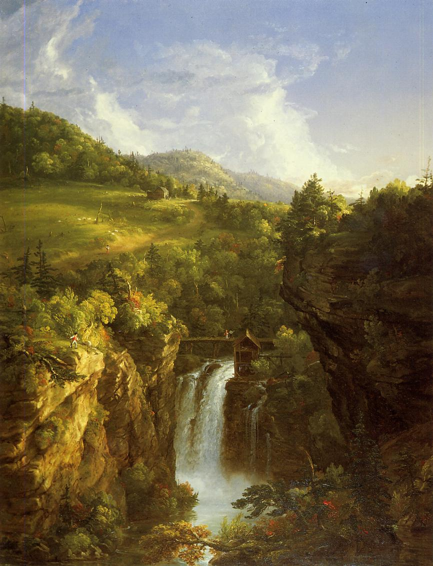 Genesee Scenery 1847   Thomas Cole   Oil Painting