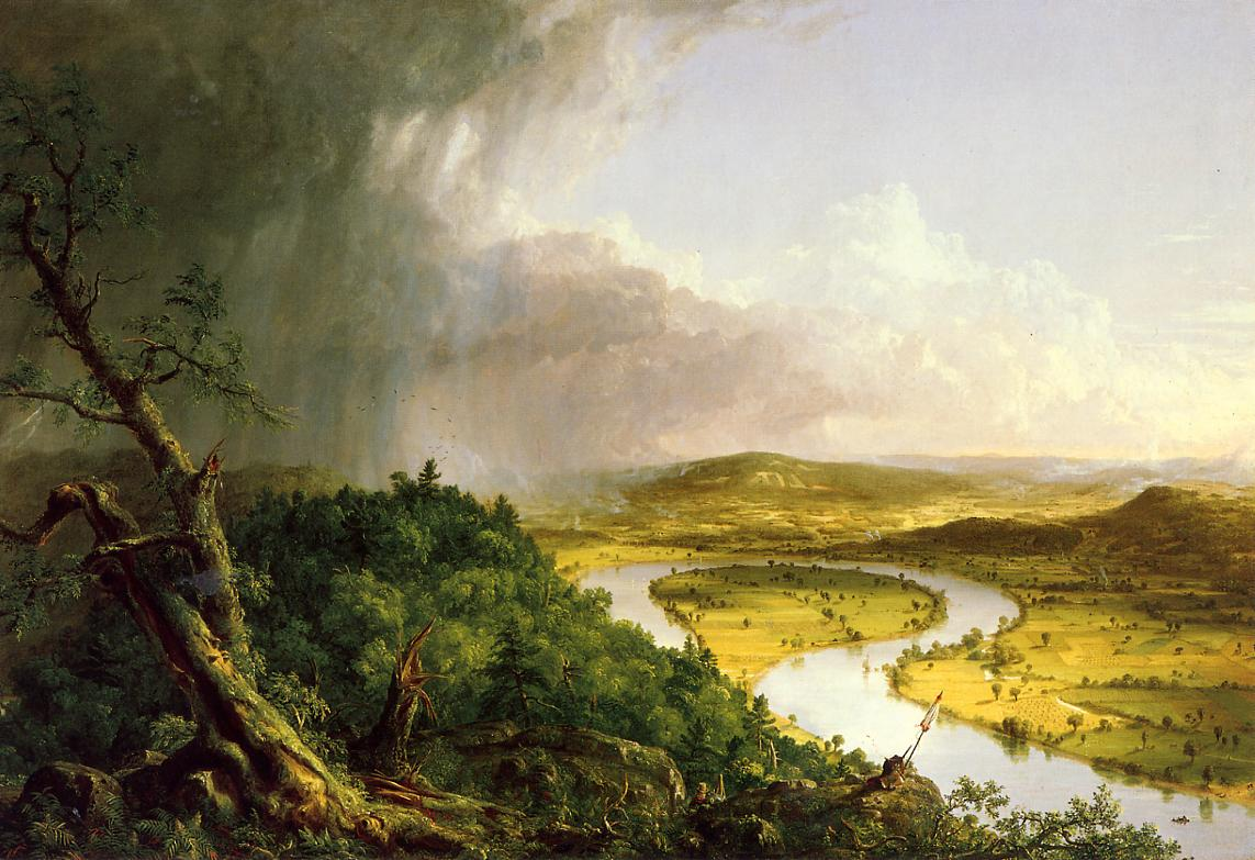 The Oxbow (aka The Connecticut River near Northampton) 1836 | Thomas Cole | Oil Painting