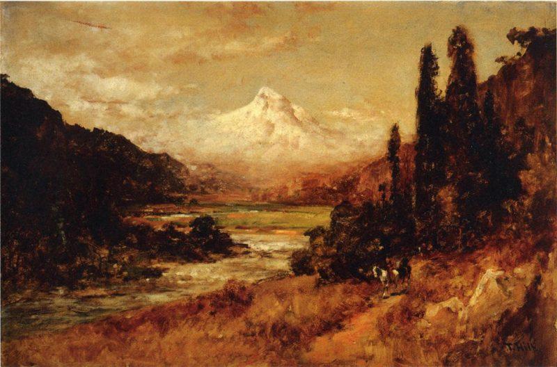 Mount Hood   Thomas Hill   Oil Painting