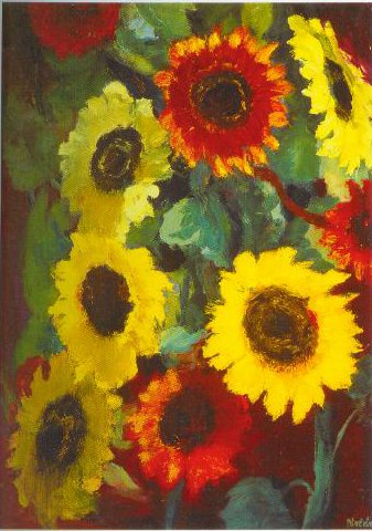 Sunflowers 1936 | Emil Nolde | Oil Painting